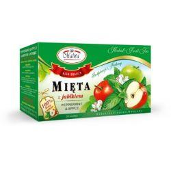 MALWA Herbatka Mięta z Jabłkiem , 20 torebek
