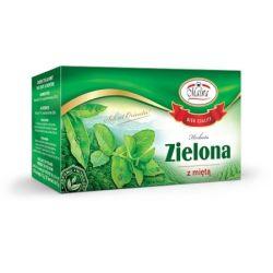 MALWA Herbata Zielona z Miętą, 20 torebek
