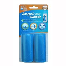 Angel Care Woreczki na pieluchy On The Go, 2x25 szt.