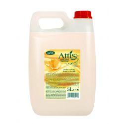 Attis Mydlo Miod I Mleko 5L