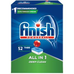 Finish Tab All-In 1 52Szt Powerball Regular