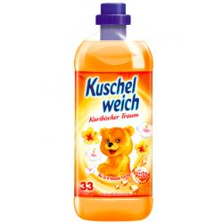 Kuschelweich Skoncentrowany Płyn do Płukania Karibischer Traum Pomarańczowy 990 ml
