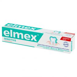 Elmex Pasta do zębów Sensitive z aminofluorkiem 75 ml