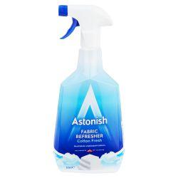 Astonish ® Spray Płyn Odświeżająco - Dezodorujący Do Tkanin 750 ml