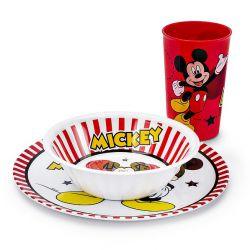 Zestaw Ze Szklanka 3El Mickey