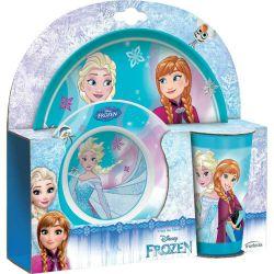 Zestaw Ze Szklanka 3El Frozen