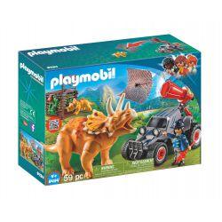 PLAYMOBIL® Samochód terenowy z działającą wyrzutnią sieci 9434