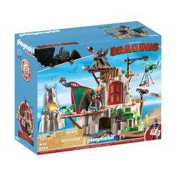 Playmobil® Klocki DRAGONS WYSPA BERK 9243