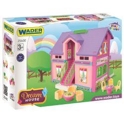 WADER Domek dla lalek 25400 3+