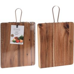 Deska do krojenia z drewna akacjowego, 42x25 cm