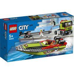 Lego® City - Transporter Łodzi Wyscigowej