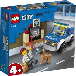 Lego® City - Oddział Policyjny z psem 60241, 212 el, +4 lat