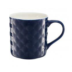 Am-Glamour Kubek Pikowany 420Ml Niebieski
