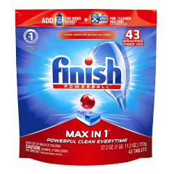 Finish Max In 1 Tabletki do Zmywarki 43 szt