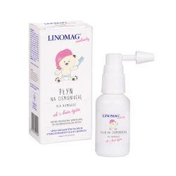 Płyn na ciemieniuchę dla niemowląt 30 ml Linomag
