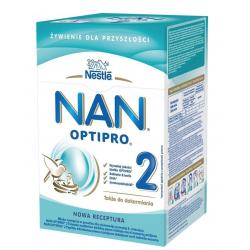 NAN OPTIPRO® 2 - powyżej 6 miesiąca 800g. Nestle