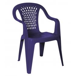 Krzesło ogrodowe diament granat