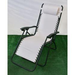 Fotel Relax Luksusowy Bezowy