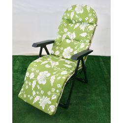 Fotel ogrodowy galaxy plus zielony