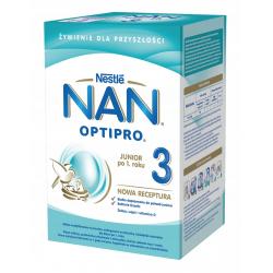 NAN OPTIPRO® 3 mleko powyżej 1 roku 800 g Nestle