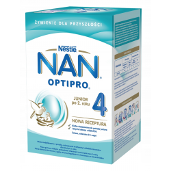 NAN OPTIPRO® 4 mleko powyżej 2 roku 800 g. Nestle