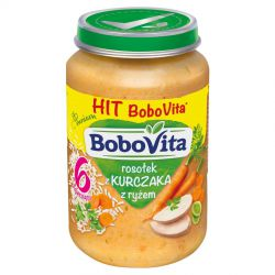Bobovita zupka domowy rosołek z kurczaka z ryżem 6m+ 190g Nutricia