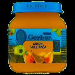 Gerber deserek gruszki Williamsa 4m+ 125g Nestle