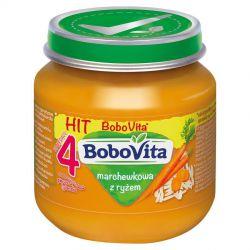 Bobovita zupka marchewkowa z ryżem 4m+ 125g Nutricia