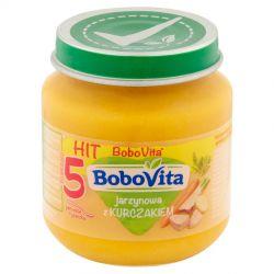 Bobovita zupka jarzynowa z kurczakiem 5m+ 125g Nutricia