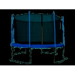 Trampolina ogrodowa z siatką ochronną 366 cm