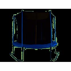 Trampolina ogrodowa z siatką ochronną 251 cm