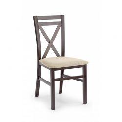 DARIUSZ krzesło ciemny orzech / tap: Vila 2 (1p 2szt)
