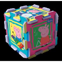 Trefl Puzzle piankowe Świnka Peppa, 8 el.