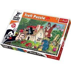 Trefl Maxi Puzzle Budowa domu 24 el.