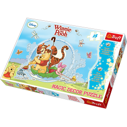 Trefl Maxi Puzzle Magic Decor Kubuś Puchatek 15 el.