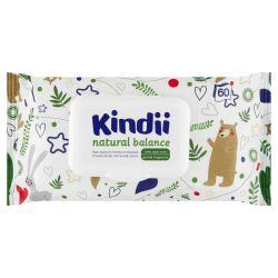 Chusteczki dla niemowląt i dzieci Kindii Natural Balance 60