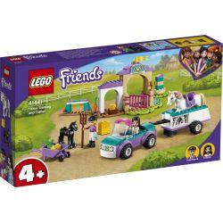 LEGO FRIENDS Szkółka jeździecka i przyczepa dla konia 184 elementy 41441