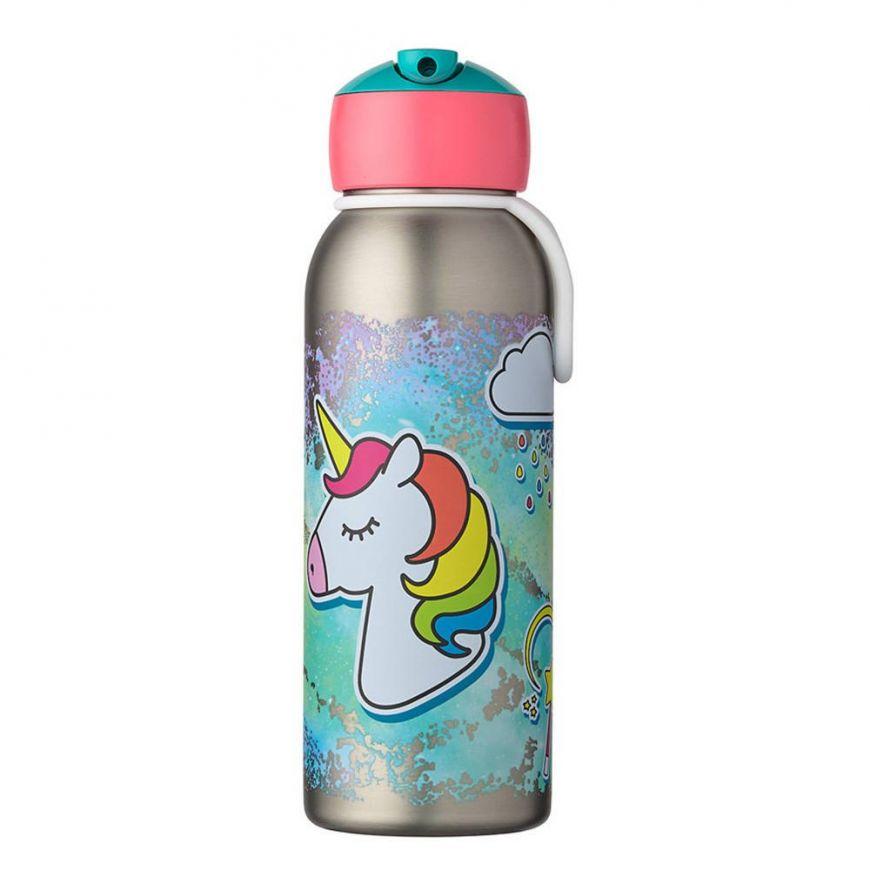 Butelka termiczna flip – up Campus Unicorn 350 ml MEPAL