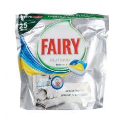Fairy Platinum Limon Kapsułki do zmywarki 25szt.