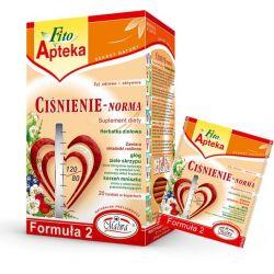 Malwa Herbata ziołowa Ciśnienie-Norma, 20 torebek w kopertach