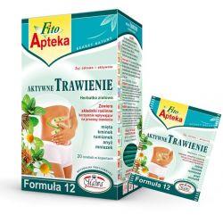 Malwa Herbata ziołowa Aktywne Trawienie, 20 torebek w kopertach