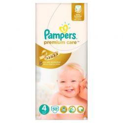 Pampers Pieluchy Premium Care 4 Maxi 7 - 18 kg, 52 szt.
