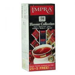 IMPRA Flavour Collection Herbata czarna aromatyzowana 30 saszetek
