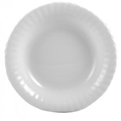 Chodzież Iwona Biała Talerz głęboki 22,5 cm