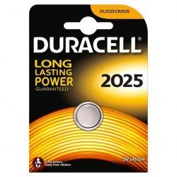 Bateria Duracell Long Lasting Power CR2025