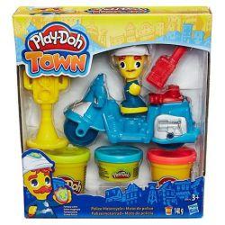 Hasbro Play-Doh Town Motocykl policyjny