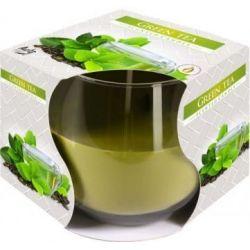Bispol Świeca zapachowa w szkle SN71-83 zielona herbata
