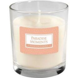 Bispol Świeca zapachowa w szkle - Świat perfum, SN74-172 Paradise Moments