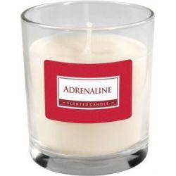 Bispol Świeca zapachowa w szkle - Świat perfum, SN74-175 Adrenaline