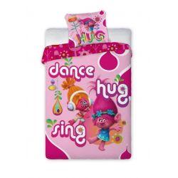 Faro Pościel Trolls - dance, hug, sing 160x200+70x80